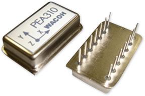 圧電型3軸加速度センサ